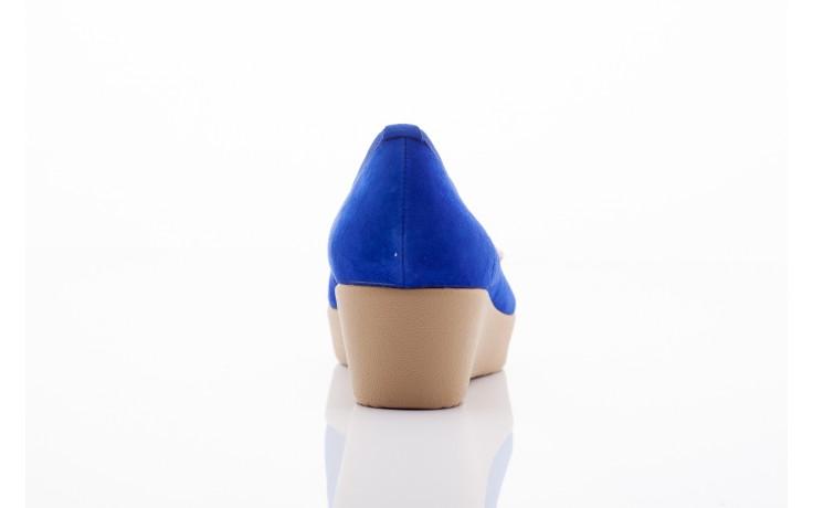 Bayla 1302-3 blue kid suede pat - bayla - nasze marki 4