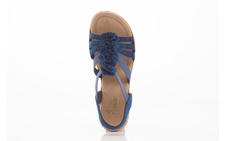 Rieker 69070-14 blue 4