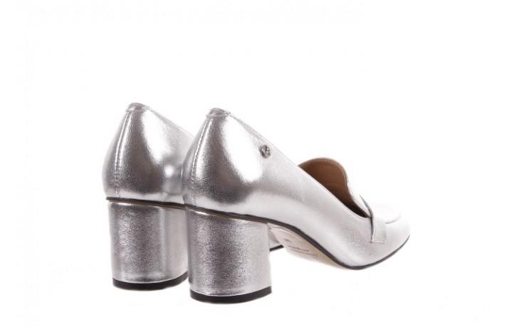 Czółenka bayla-156 2677 srebro, skóra naturalna  - bayla - nasze marki 3