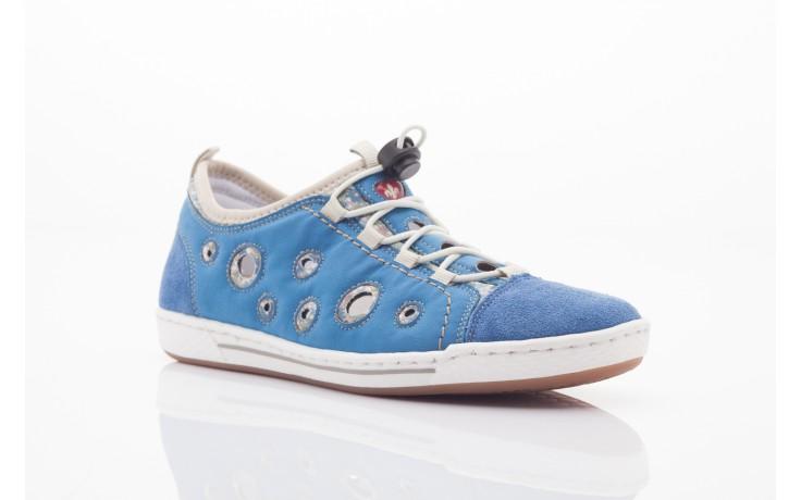 Rieker l3075-14 blau kombi