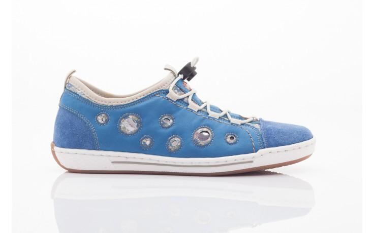 Rieker l3075-14 blau kombi 4