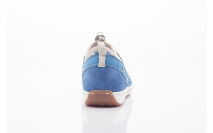 Rieker l3075-14 blau kombi 3