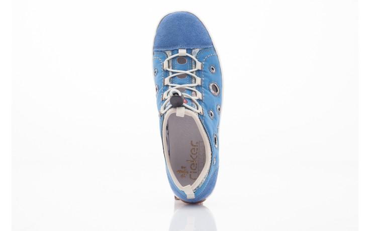 Rieker l3075-14 blau kombi 1