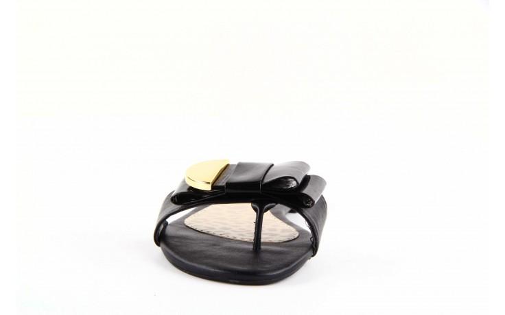 Klapki dijean 355 753 napa black, czarny, skóra ekologiczna 1