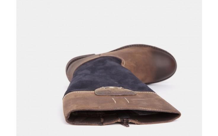 Tom taylor 0518211 brown-dk. blue 4