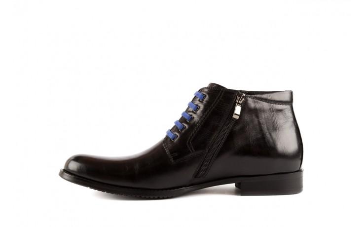 Trzewiki john doubare y1051-12-10 black, czarny, skóra naturalna - wizytowe - trzewiki - buty męskie - mężczyzna 2