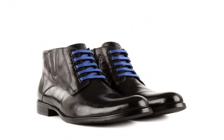 Trzewiki john doubare y1051-12-10 black, czarny, skóra naturalna - wizytowe - trzewiki - buty męskie - mężczyzna 1