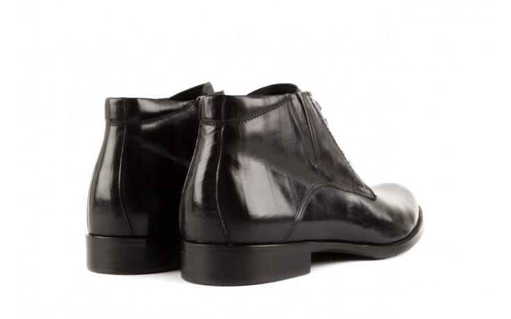 Trzewiki john doubare y1051-12-10 black, czarny, skóra naturalna - wizytowe - trzewiki - buty męskie - mężczyzna 3