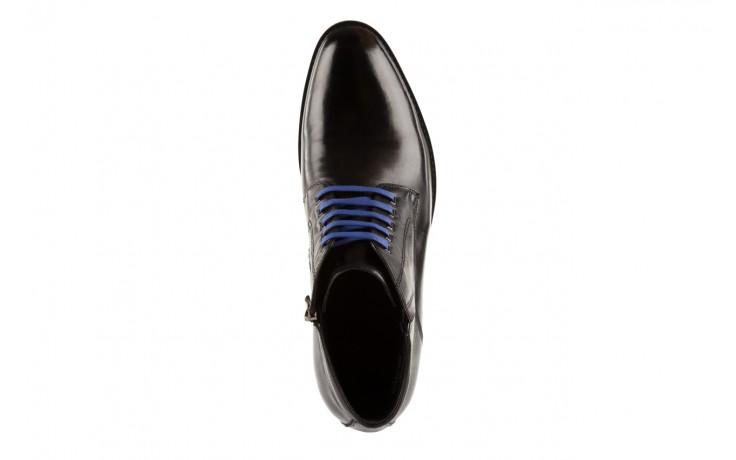 Trzewiki john doubare y1051-12-10 black, czarny, skóra naturalna - wizytowe - trzewiki - buty męskie - mężczyzna 4