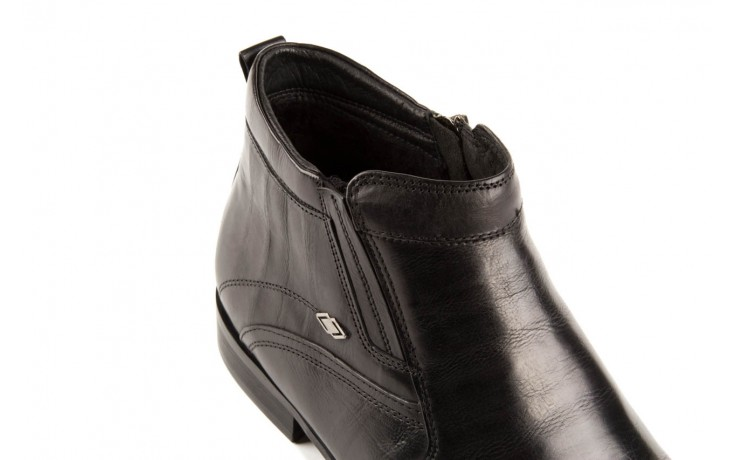 Trzewiki john doubare y1051-a25-5 black, czarny, skóra naturalna - brooman - nasze marki 5