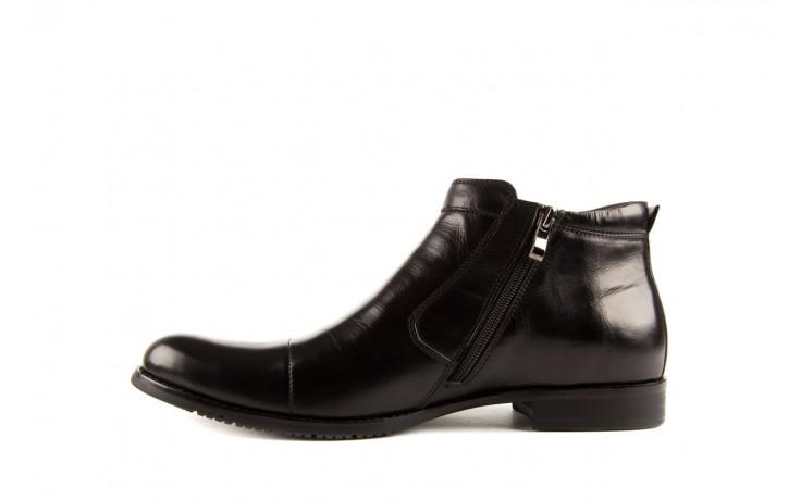 Trzewiki john doubare y1051-a25-5 black, czarny, skóra naturalna - brooman - nasze marki 2