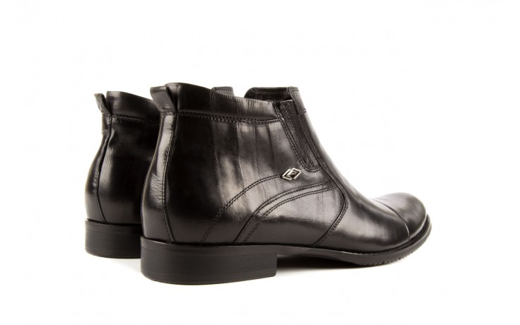 Trzewiki john doubare y1051-a25-5 black, czarny, skóra naturalna - brooman - nasze marki 3