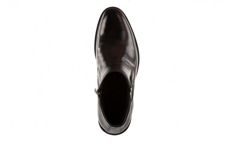 Trzewiki john doubare y2308-22-2 black, czarny, skóra naturalna - brooman - nasze marki 4
