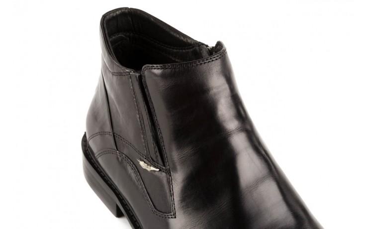 Trzewiki john doubare y2308-22-2 black, czarny, skóra naturalna - brooman - nasze marki 5