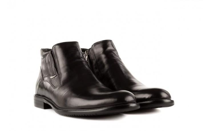 Trzewiki john doubare y2308-22-2 black, czarny, skóra naturalna - brooman - nasze marki 1