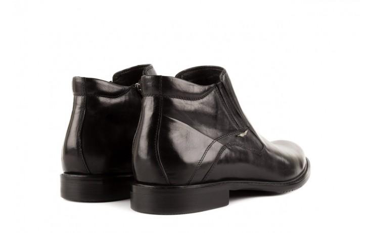 Trzewiki john doubare y2308-22-2 black, czarny, skóra naturalna - brooman - nasze marki 3