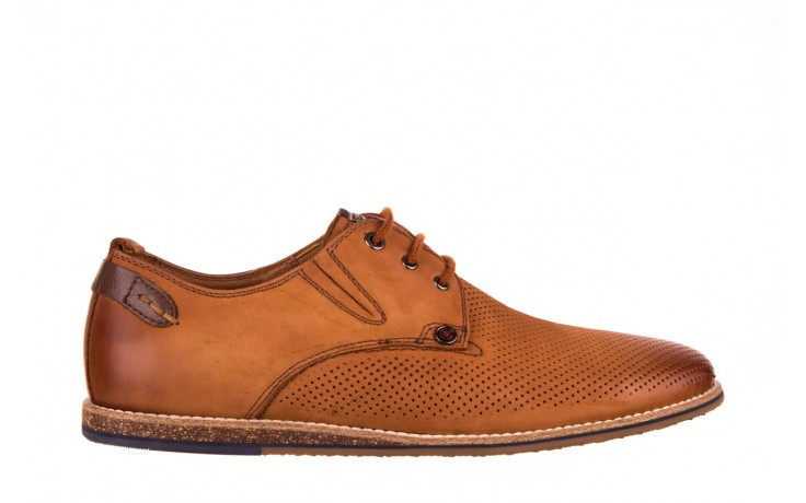 Półbuty john doubare p1227-05d brown, brąz, skóra naturalna  - brooman - nasze marki