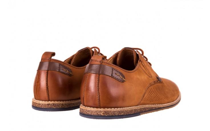 Półbuty john doubare p1227-05d brown, brąz, skóra naturalna  - brooman - nasze marki 3