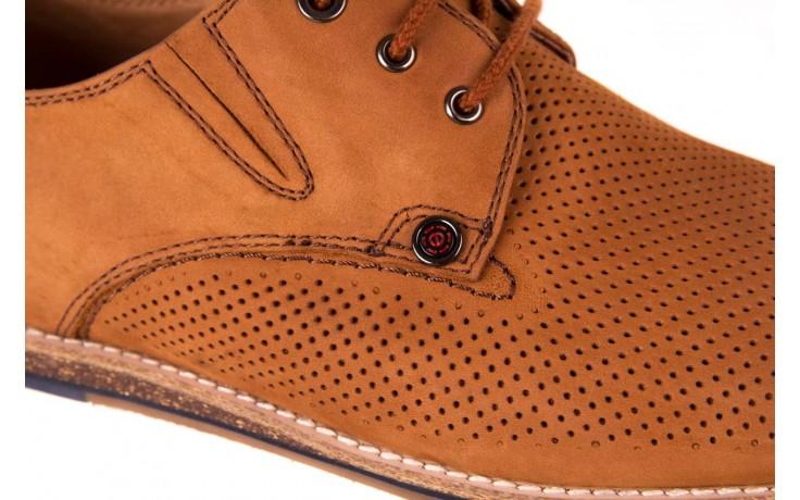 Półbuty john doubare p1227-05d brown, brąz, skóra naturalna  - brooman - nasze marki 5