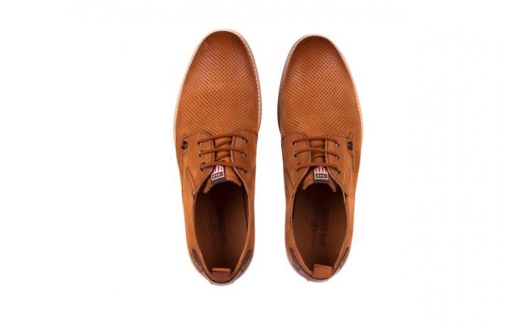 Półbuty john doubare p1227-05d brown, brąz, skóra naturalna  - brooman - nasze marki 4