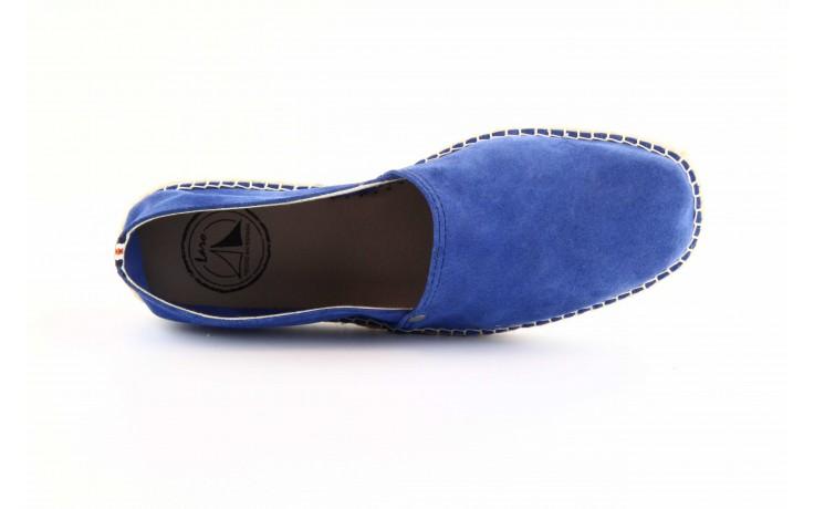 Mokasyny laro pepe 14l jeans, niebieski, skóra naturalna 1