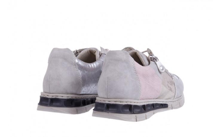 Rieker m2840-40 grey combination 3