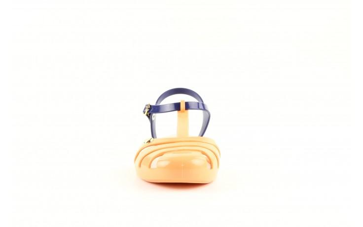Mel 32115 orange-blue-beige - nasze marki