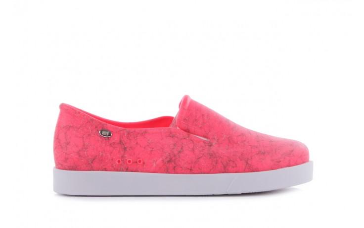 Trampki mel 32152 pink white, róż/biały, guma