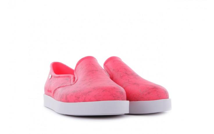 Trampki mel 32152 pink white, róż/biały, guma 1