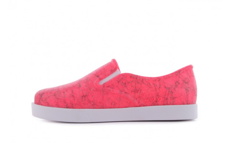 Trampki mel 32152 pink white, róż/biały, guma 2
