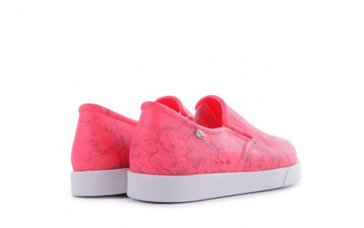 Trampki mel 32152 pink white, róż/biały, guma 3