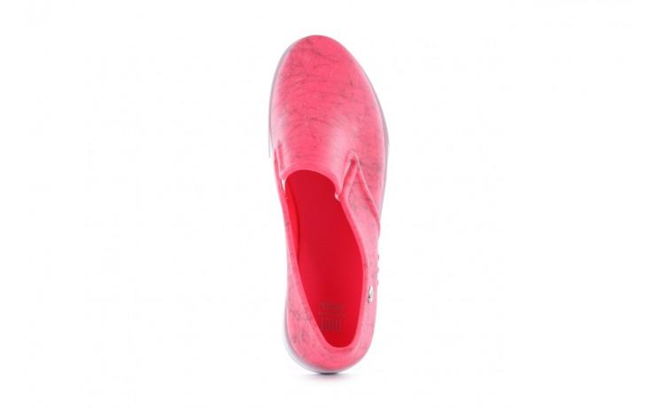 Trampki mel 32152 pink white, róż/biały, guma 4