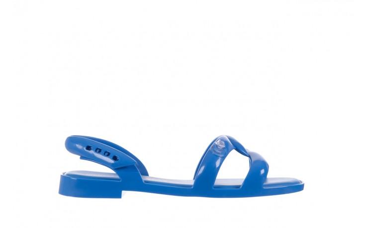 Sandały melissa tube sandal jeremy sc blue, niebieski, guma - melissa - nasze marki