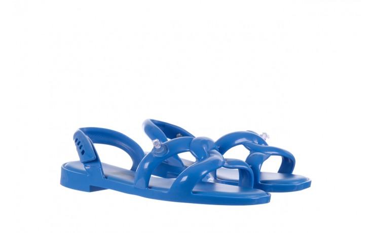 Sandały melissa tube sandal jeremy sc blue, niebieski, guma - melissa - nasze marki 1
