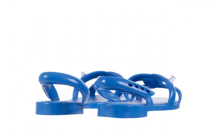 Sandały melissa tube sandal jeremy sc blue, niebieski, guma - melissa - nasze marki 3