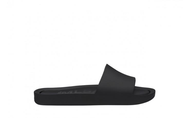 Klapki melissa beach slide ad black 010264, czarny, guma - melissa - nasze marki