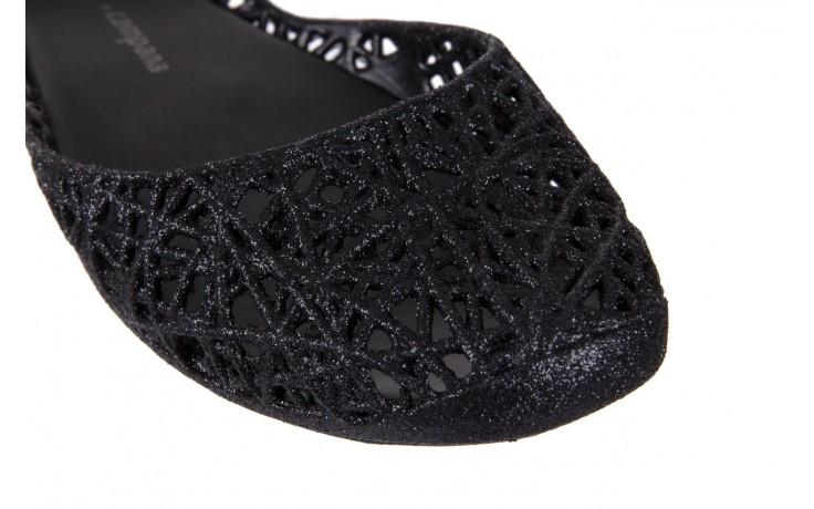 Melissa campana papel zig zag ii ad black glitter - melissa - nasze marki 5