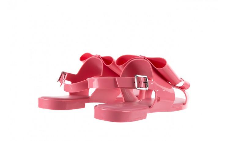 Sandaly melissa classy ii ad pink, róż, guma 3