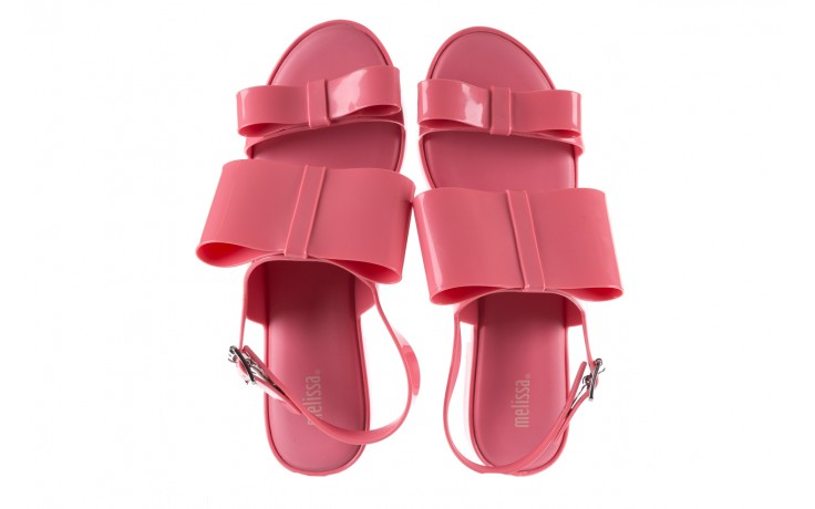 Sandaly melissa classy ii ad pink, róż, guma 4