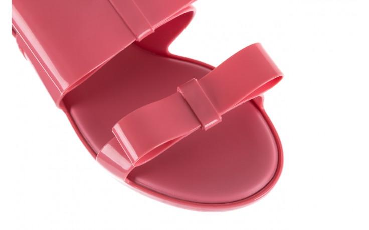 Sandaly melissa classy ii ad pink, róż, guma 5