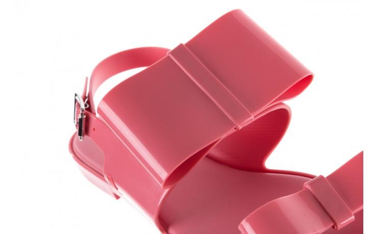 Sandaly melissa classy ii ad pink, róż, guma 6