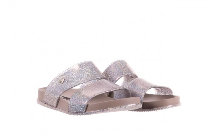 Klapki melissa cosmic ad glitter silver, srebrny, guma - melissa - nasze marki 1