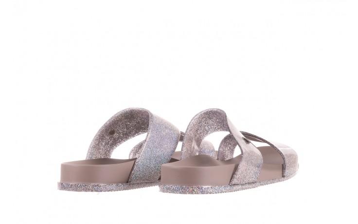 Klapki melissa cosmic ad glitter silver, srebrny, guma - melissa - nasze marki 3