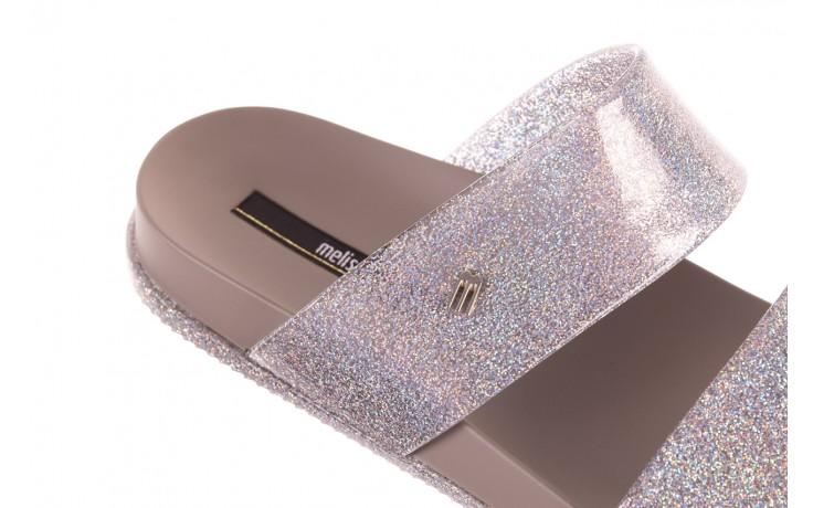 Klapki melissa cosmic ad glitter silver, srebrny, guma - melissa - nasze marki 5