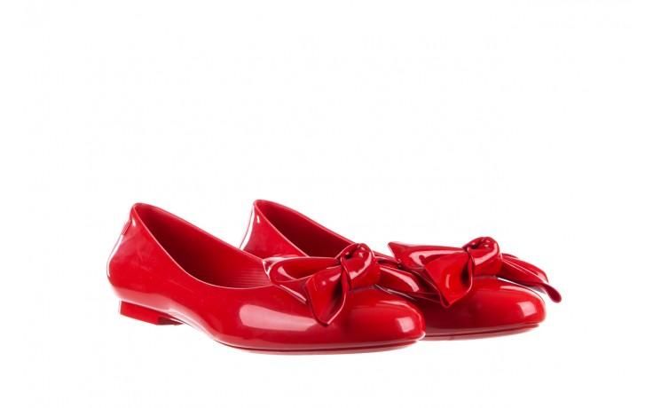 Baleriny melissa doll fem ii ad red, czerwony, guma - kobieta 1