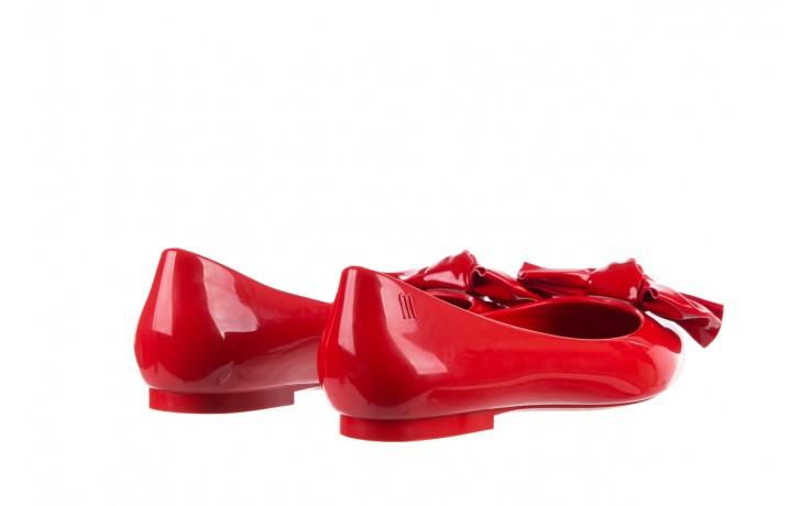 Baleriny melissa doll fem ii ad red, czerwony, guma - kobieta 4