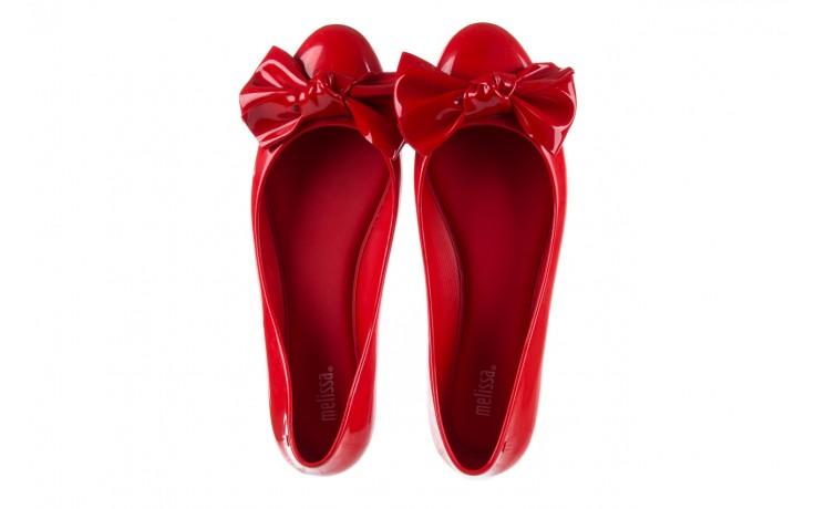 Baleriny melissa doll fem ii ad red, czerwony, guma - kobieta 5