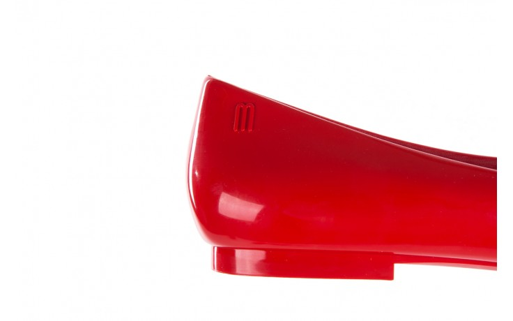 Baleriny melissa doll fem ii ad red, czerwony, guma - melissa - nasze marki 7
