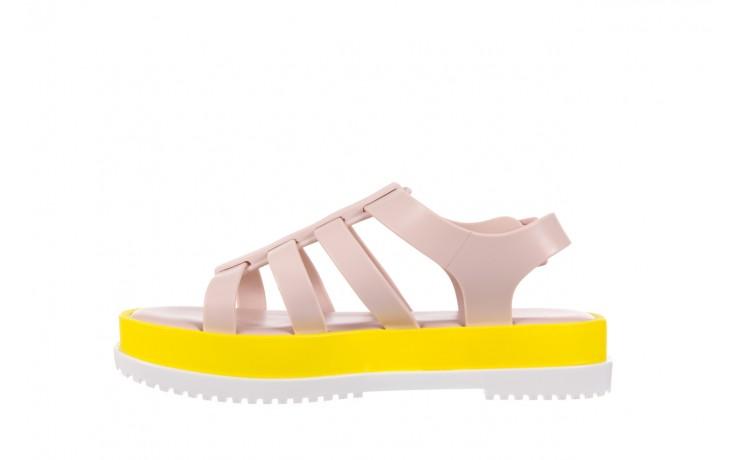 Sandały melissa flox iii ad pink-yellow, beż, guma - melissa - nasze marki 2