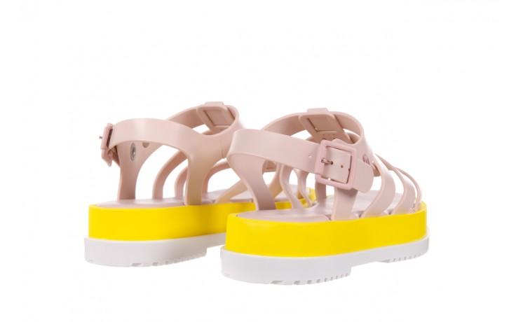 Sandały melissa flox iii ad pink-yellow, beż, guma - melissa - nasze marki 3